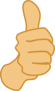 Give Yourself a Thumbs Up!