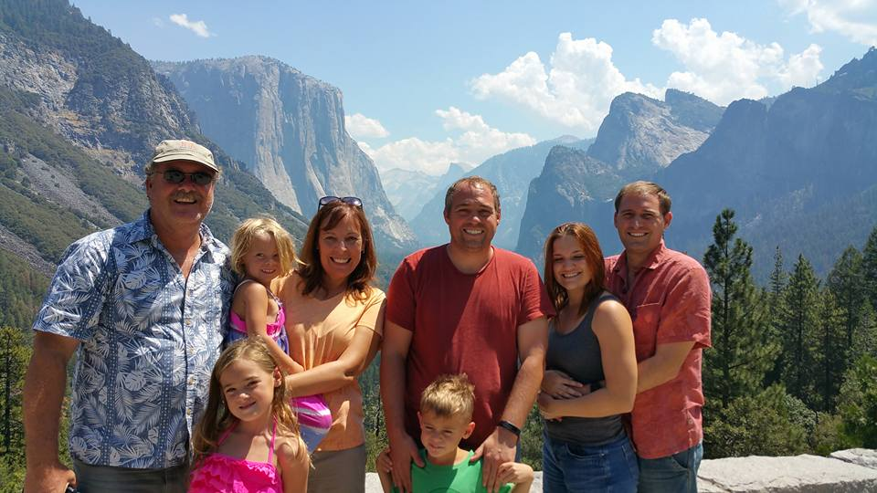 Our family in Yosemite this past summer.