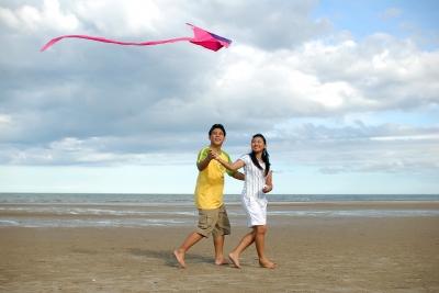 spring kite