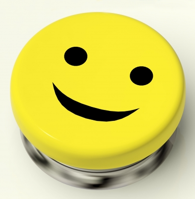 Is the media making us feel like happiness is like a button we push for instant bliss?