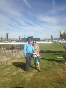 The Empire Polo Club in Indio Friday afternoon before the event began.