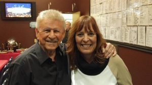 Excited to be backstage with Bobby Rydell!