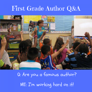First Grade Author Q&A
